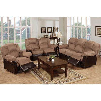 Living Room Sets, Fabric Living Room Sets With Recliner
