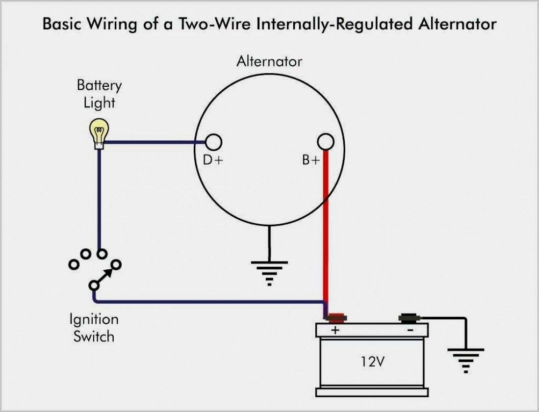 Image Of Ford Alternator Wiring Diagram Delco Alternator
