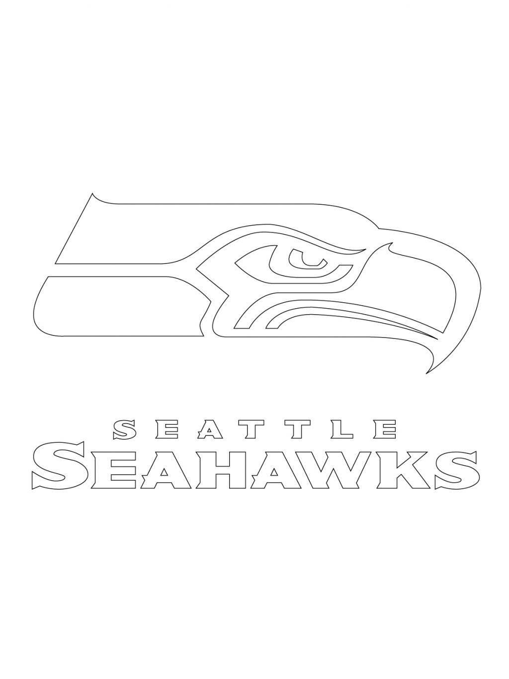 httpwwwkidskatcomimagesprintable seattle seahawks logo coloring pages jpg