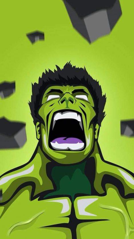 Hulk Roar iPhone Wallpaper Superhero wallpaper, Hulk art