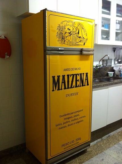 Adesivo Para Geladeira Retro ~ adesivo maizena vintage retro envelopamento de geladeira Geladeiras Pinterest Icons