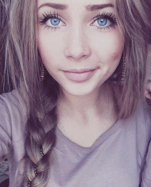 Light Ash Brown Hair Blueeyes Eyelashes Pretty Hair Beauty