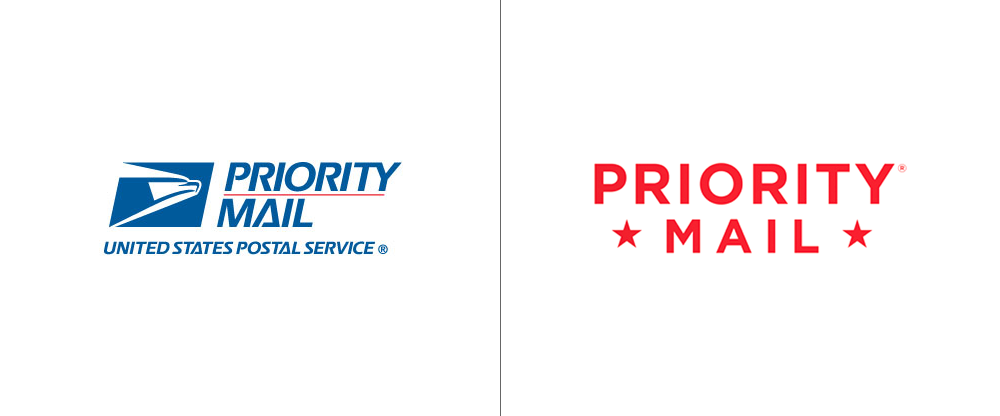 Reviewed New Packaging For Usps Priority Mail Priorities Logo