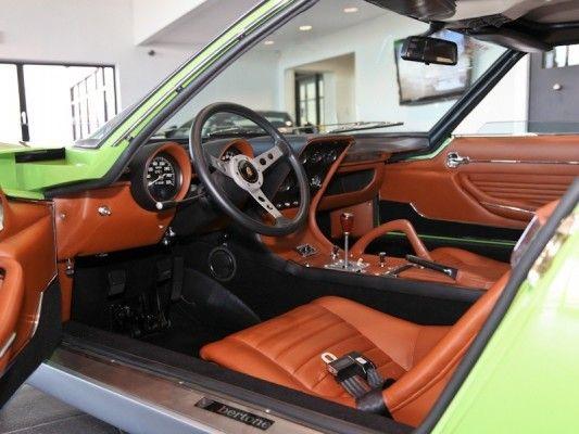 1969 Lamborghini Miura Interior Beautiful Dashboards Car Interior
