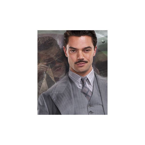 Dominic Cooper as Howard Stark ❤ liked on Polyvore featuring avengers