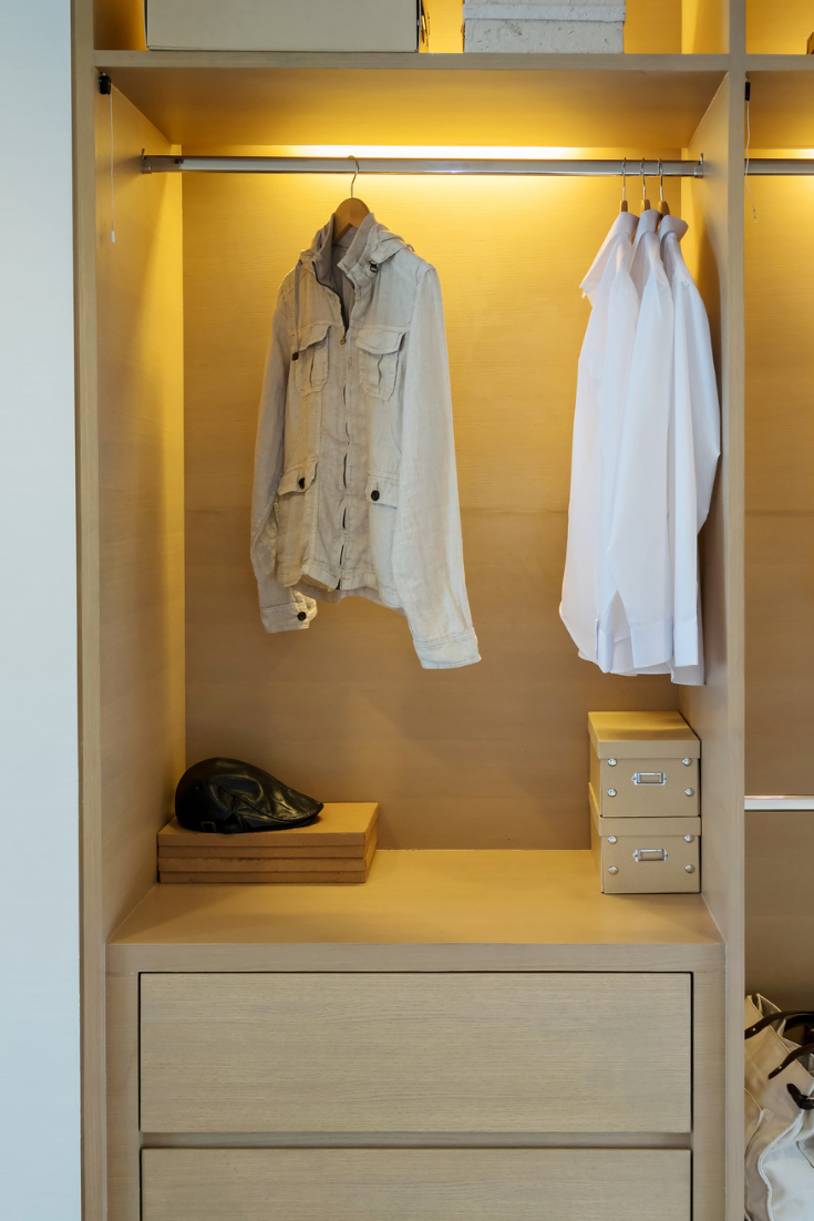 Led Lights Are Very Useful In Closets Because They Allow You To