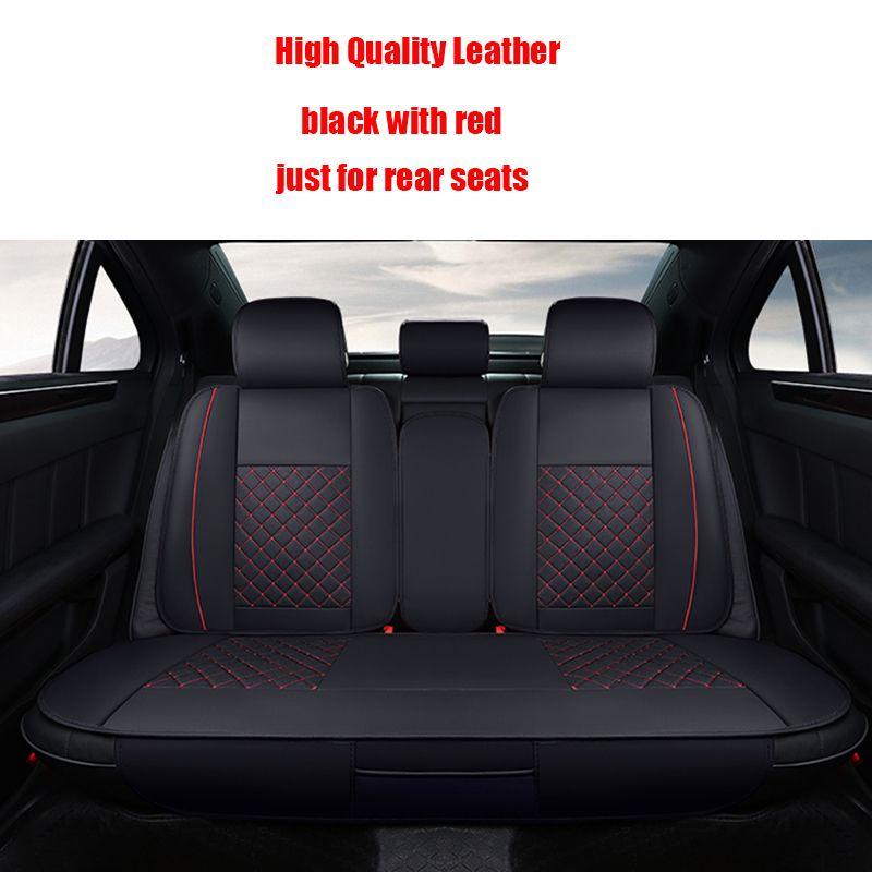 4 Pcs Leather Car Seat Covers For Skoda Octavia 2 A7 A5 Fabia Superb Rapid Yeti Spaceback Joyste Car Acce Leather Car Seat Covers Car Seats Leather Seat Covers