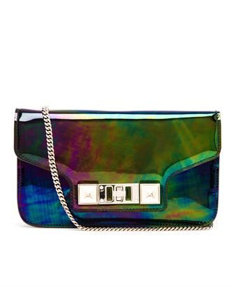 PROENZA SCHOULER - Oil Slick PS11 Mini Clutch Bag