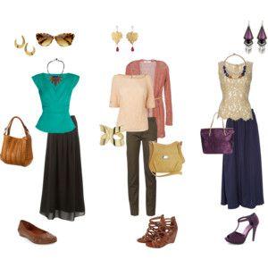 Deep autumn summer outfits