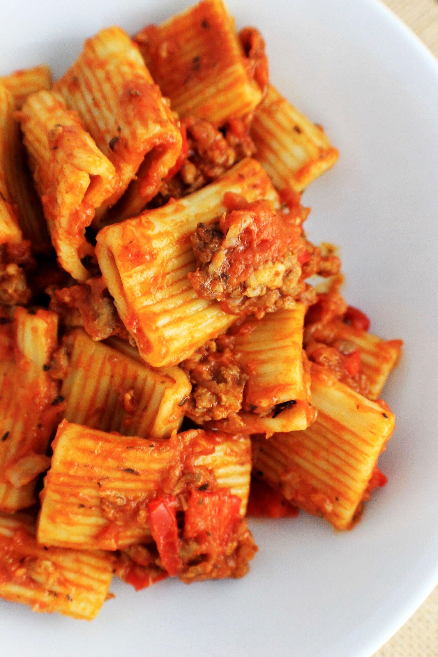 Instant Pot Sausage Rigatoni Pasta Recipe Instant Pot Pasta