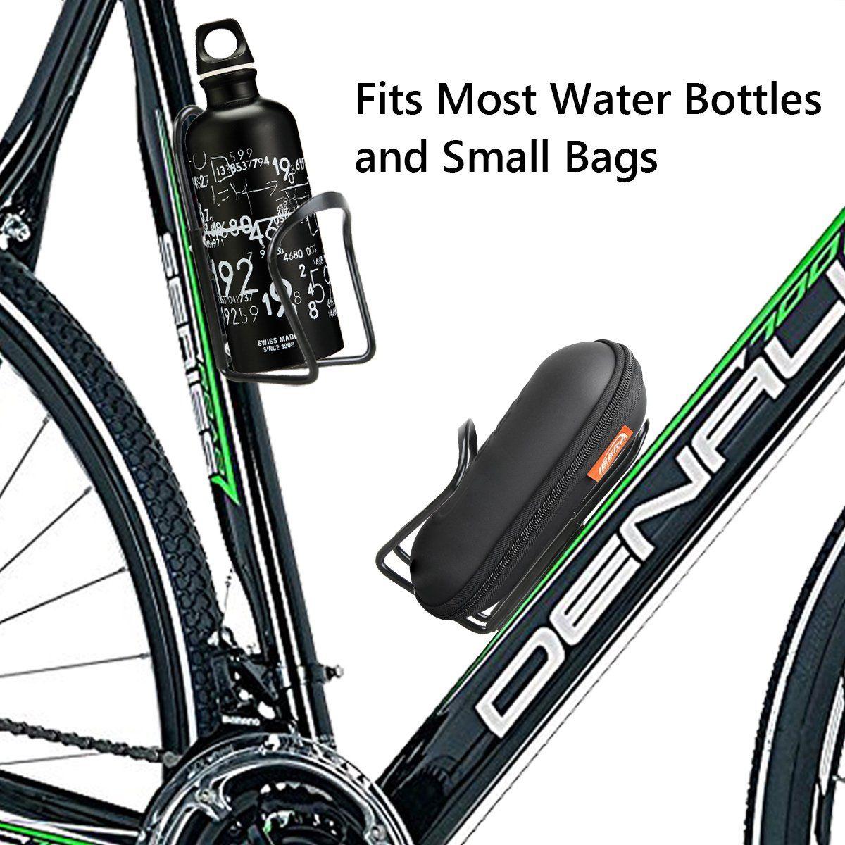 2 Pack Water Bottle Holder For Bike Lightweight Alloy Aluminum
