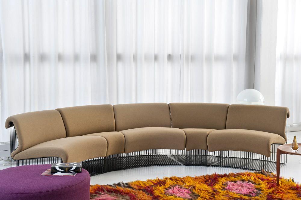 Sofa design by Verner Panton