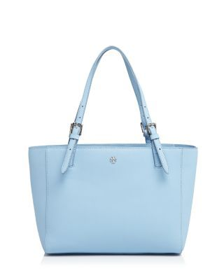 5e9ce68f7 Tory Burch Tote - York Small | Bloomingdale's Blue Handbags, Blue Purse,  Shopping Lists