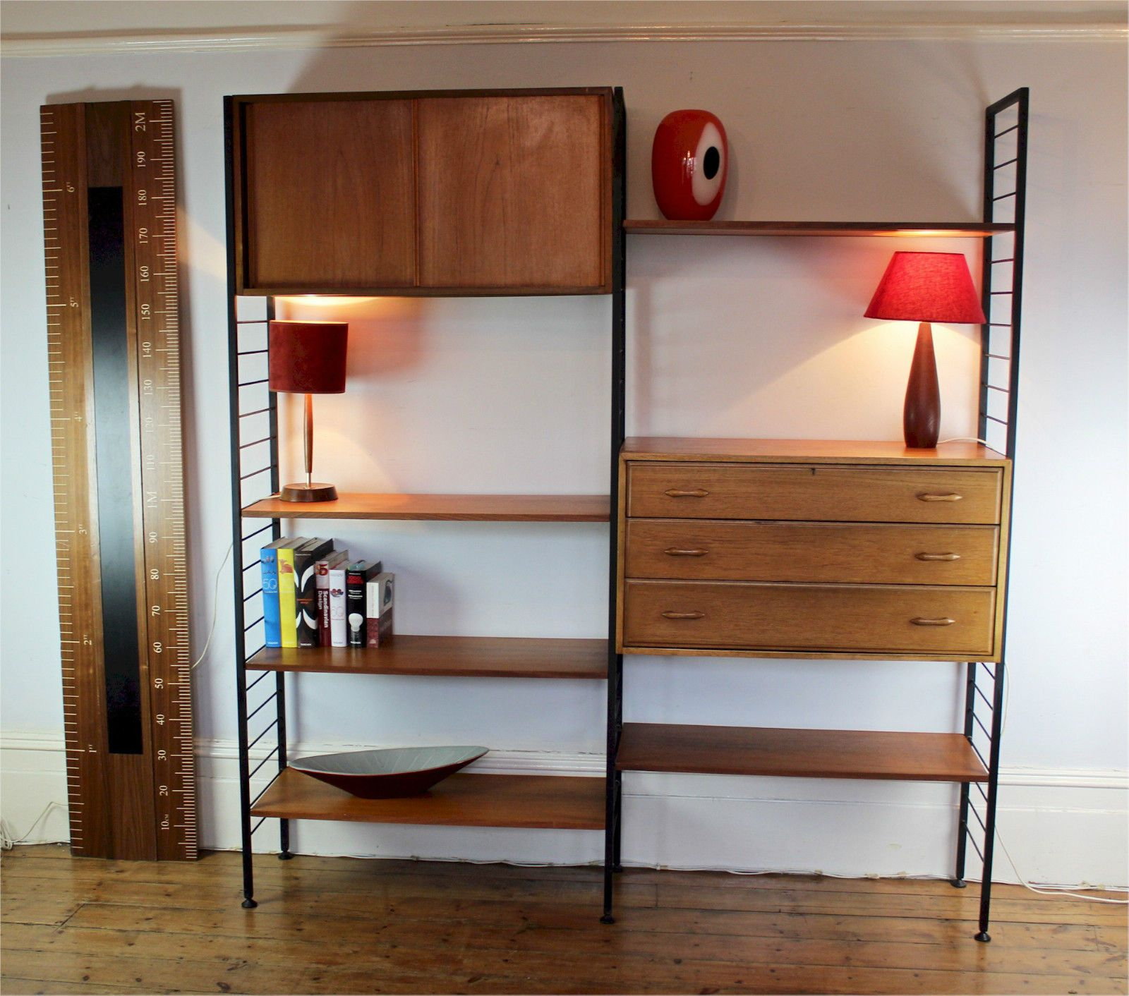 Ladderax Shelving System, 695 Office Guest Roomsshelving Systemsshelvesmid Centuryfurnitureshelvingmedievalshelving