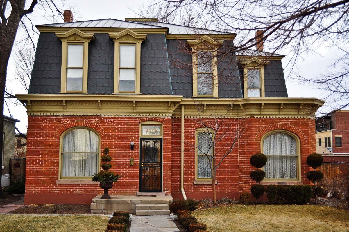 1870 S Second Empire Denver Home Denver Urbanism Charts