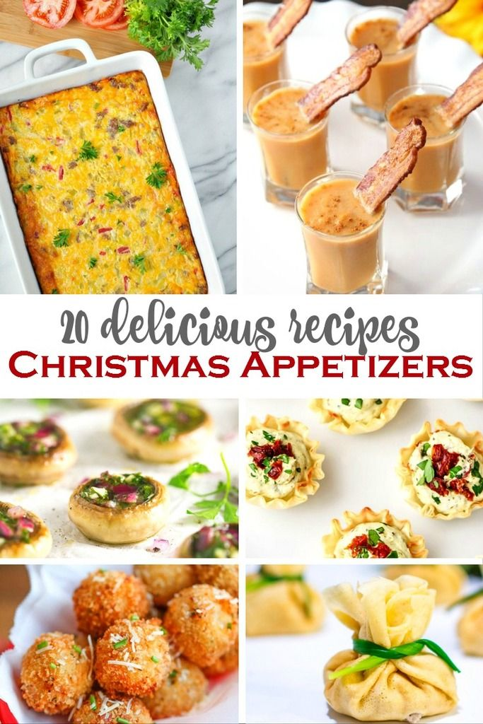 20 Delicious Christmas Appetizers Christmas appetizers, Recipes