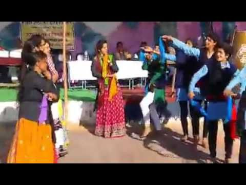 Annual School function in garhwal with garhwali song dance