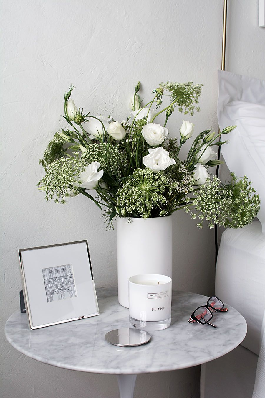 DIY Home and Design, bed side night stand table decor for
