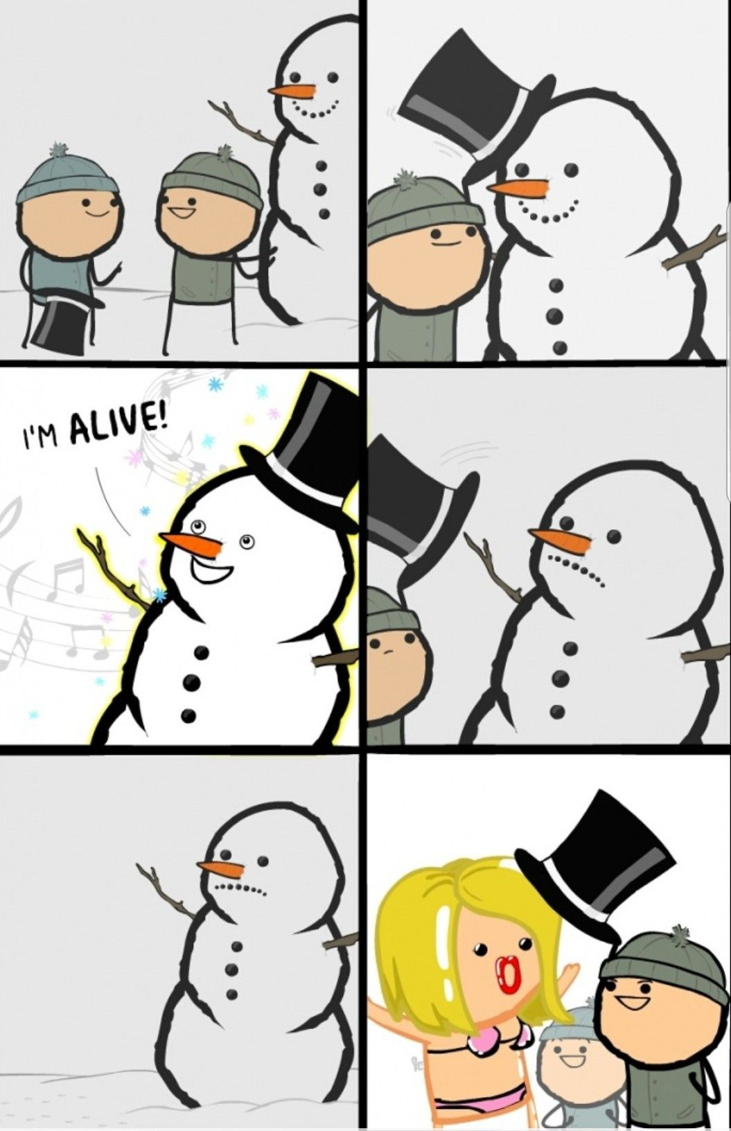 Happy Birthday Cyanide And Happiness Cyanide And Happiness Comics Happy Birthday Meme
