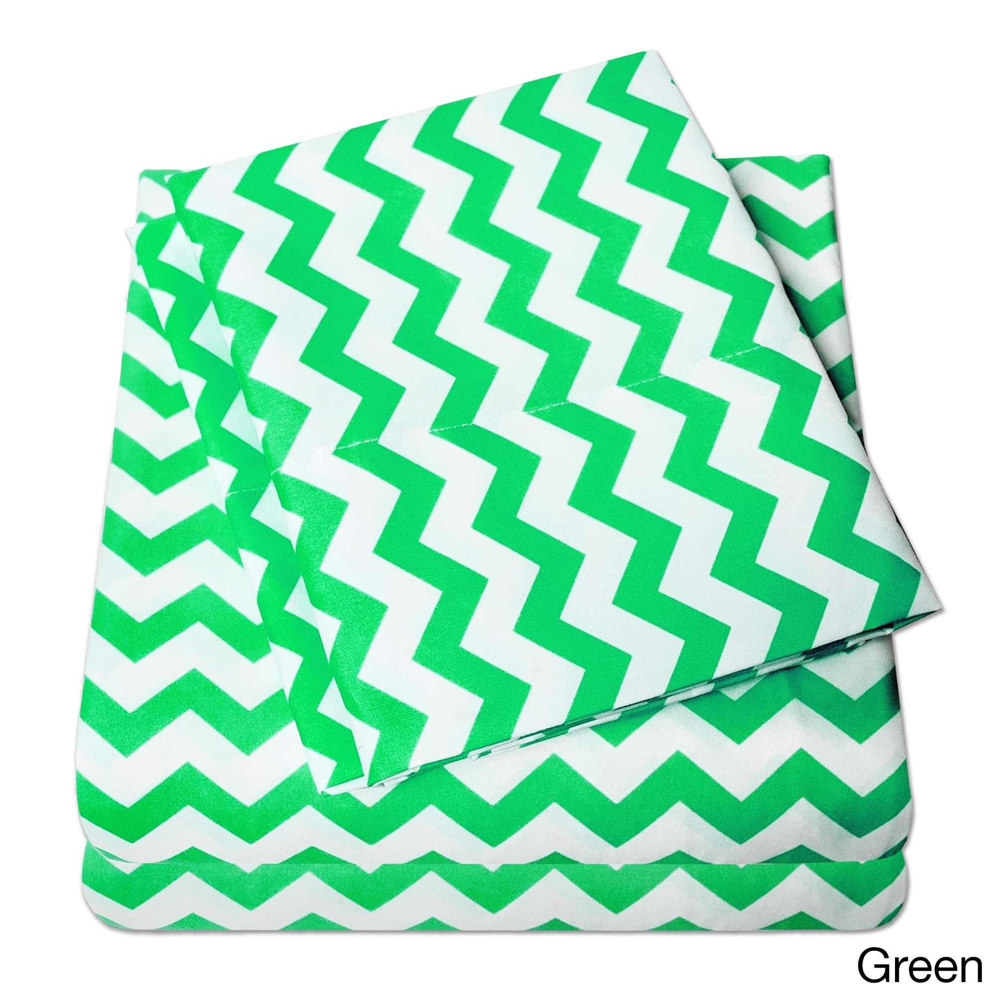 N Incredibly Soft 4 Piece Chevron Sheet Set