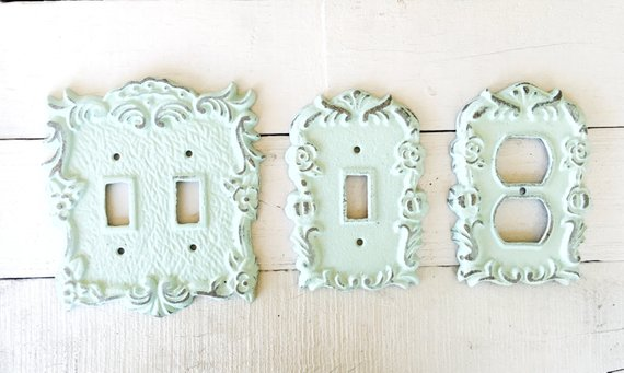 Outlet Cover Brass Italian