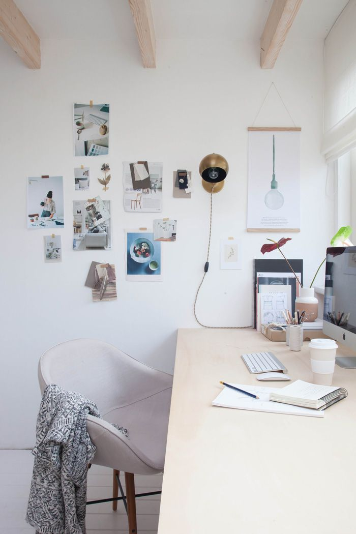 Holly Marder's home office