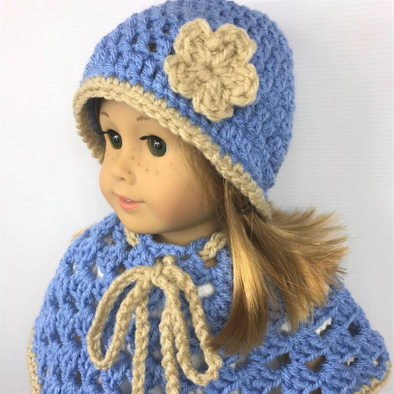 Easy Crochet Doll Hat Pattern — PACountryCrafts | 768x768