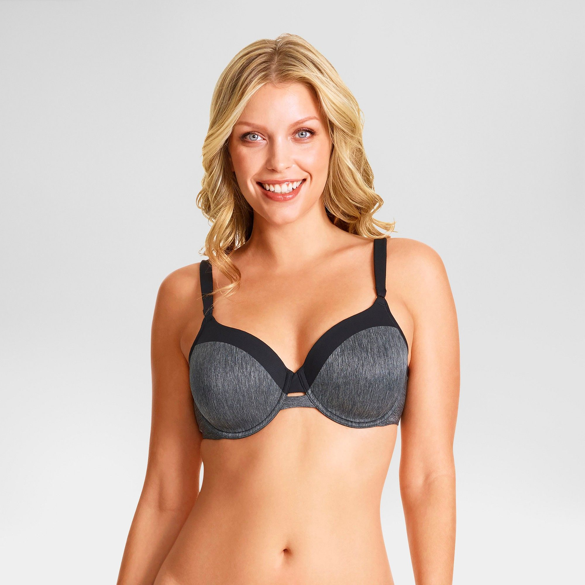 34cb4af994bec Simply Perfect by Warner s Women s Full Figure Cooling Underwire Bra -  Black 38DDD