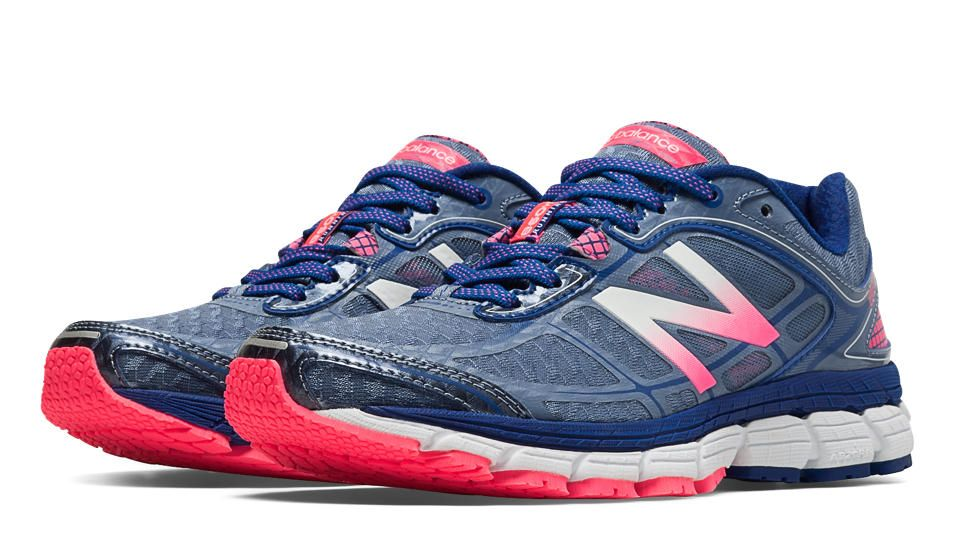 New Balance 860v5, Blue Fin with Bubble Gum Pink | Wish List