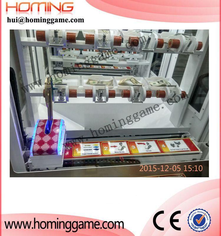 100% Japan Original Versiongame machine axe master prize vending game machine,hot sale USA,Russia,Spain,Germany etc(hui@hominggame.com)