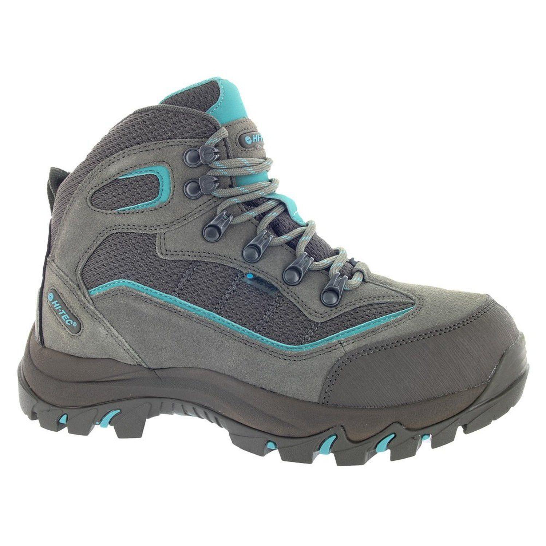 Ladies Hi Tec Leather Waterproof Lightweight Trail Hiking Shoe Womens Boots Size