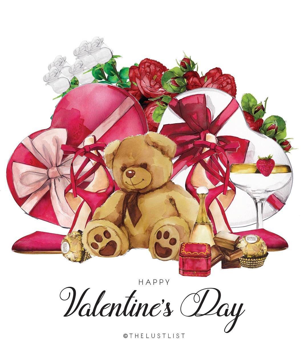 HAPPY VALENTINES DAY! #thelustlist #valentinesday #love