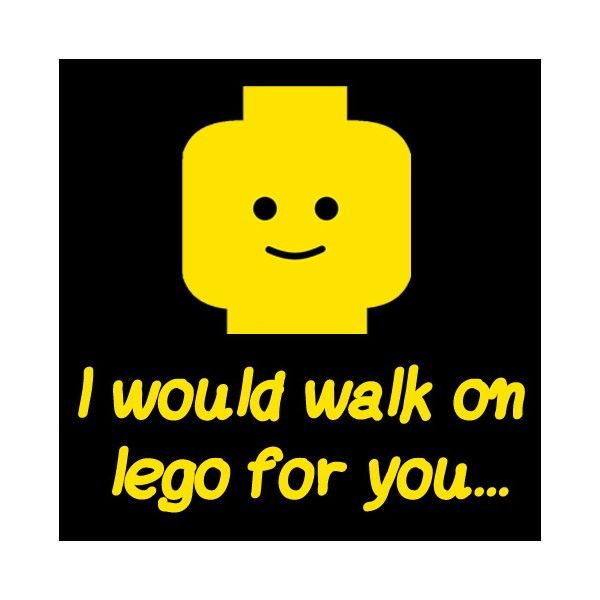 For anyone who's experienced the agony of stepping on a lego in the ...