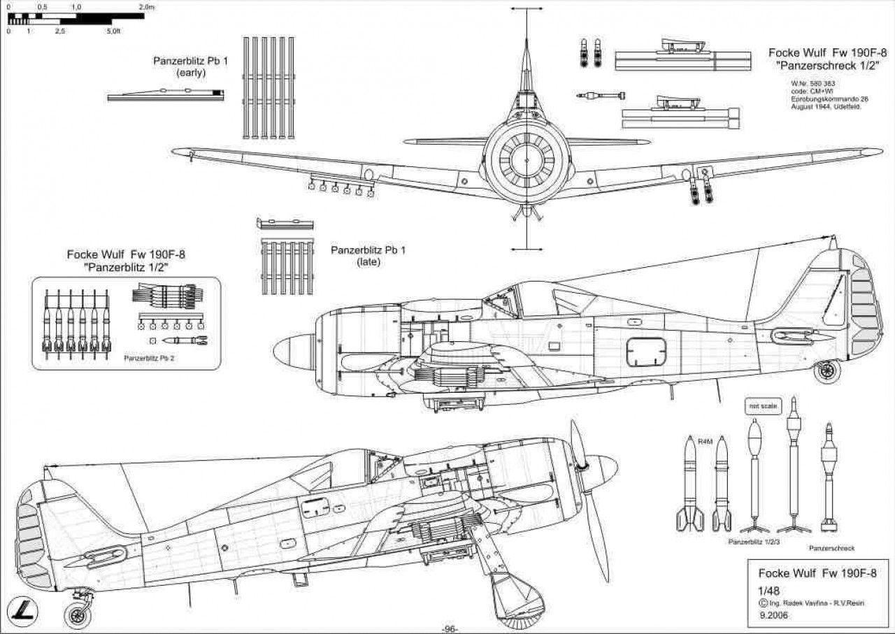 Fw 190 Mas De Muchos