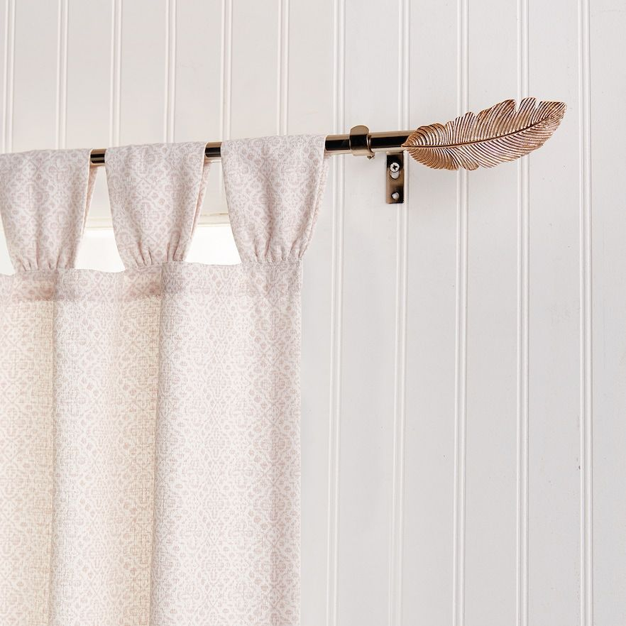Lc Lauren Conrad Feather Window Curtain Rod Window Curtain Rods