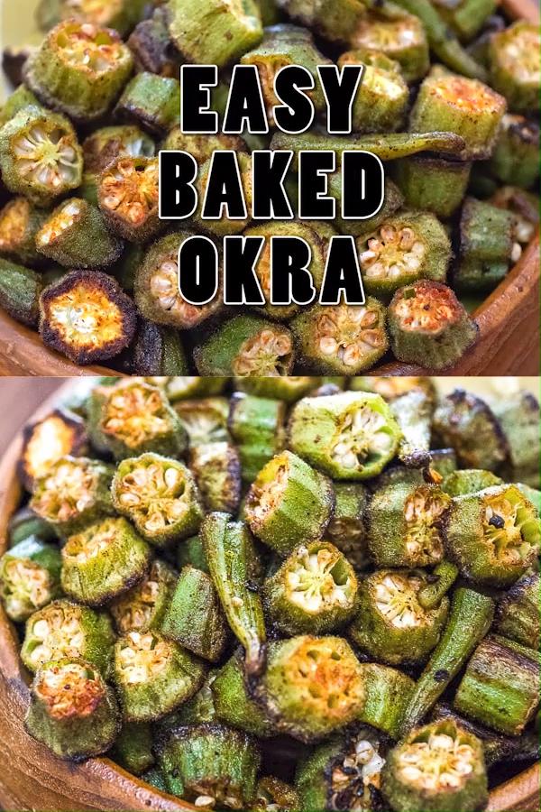 Baked Okra