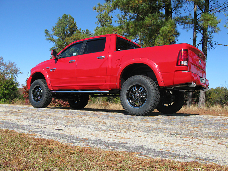 lifted dodge ram 1500 red truck - 2014 Dodge Ram 1500 Lifted Red