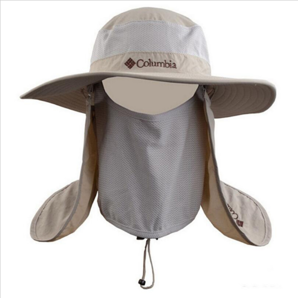Outdoor sport hiking fishing uv protection waterproof for Fishing hats sun protection