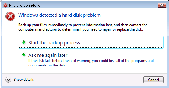 Getting A Hard Drive Error On My Laptop What Should I Do Hard