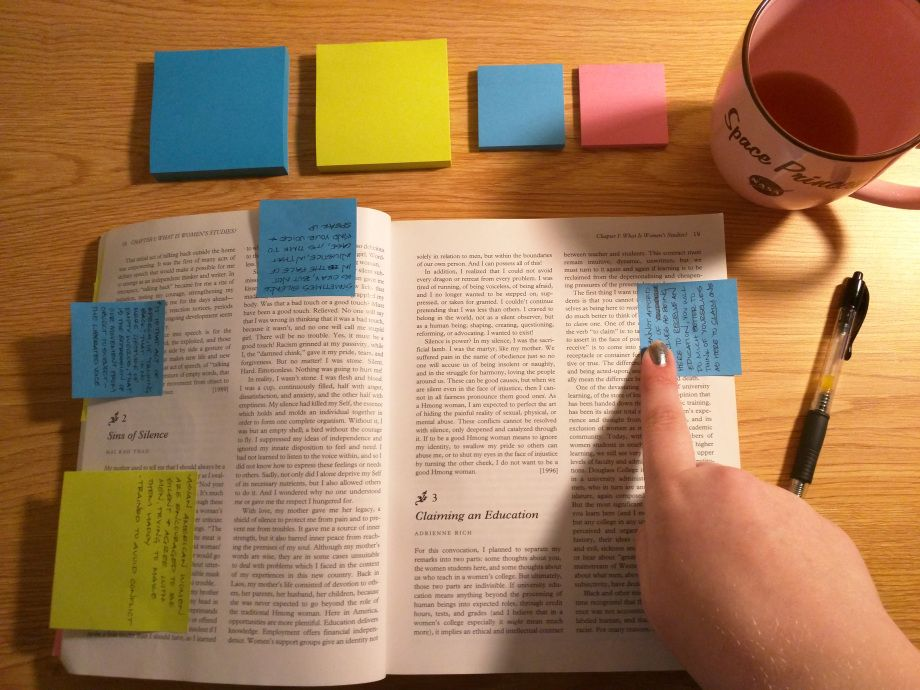 Is it a good idea to take notes of our own books?