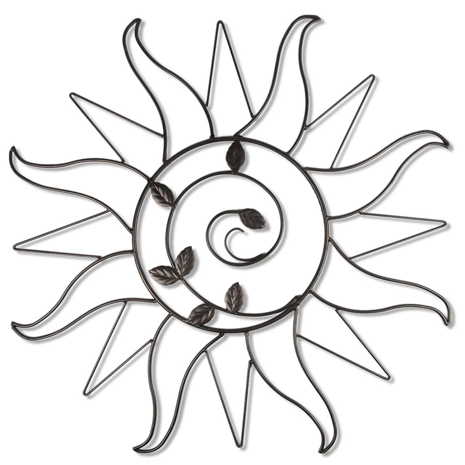 Plastec wddb sun sprout dark bronze wall decor you can get