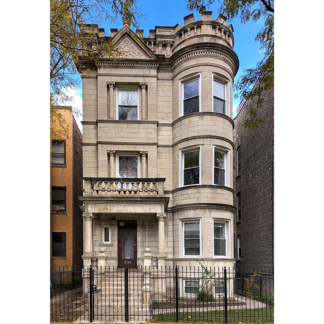 Chicago Illinois Victorian Architecture Victorian Homes Old Houses
