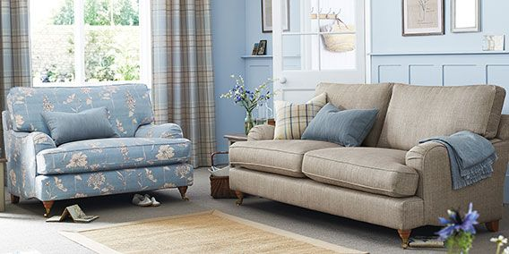 Buy Sofia Snuggle Seat 2 Seats Gradient Stripe Dove Lowturned Standard Next Snuggle Seat Small Sofa Sofas And Chairs