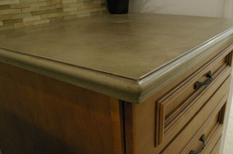 Concrete Countertop Ogee Edge With Images Concrete