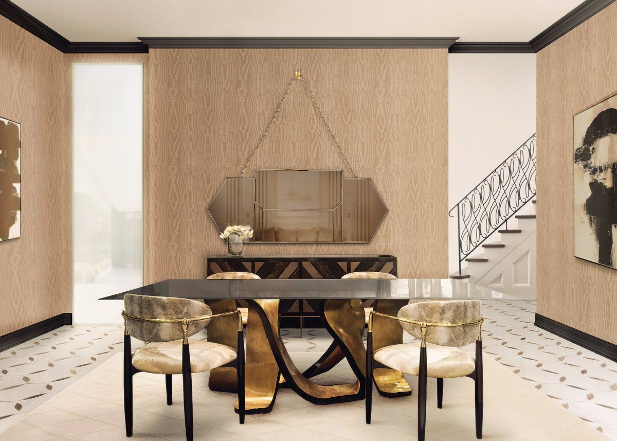 8 Dining Room Tables Perfect For A Luxury Dining Set  Room Stunning Luxury Dining Room Furniture Inspiration