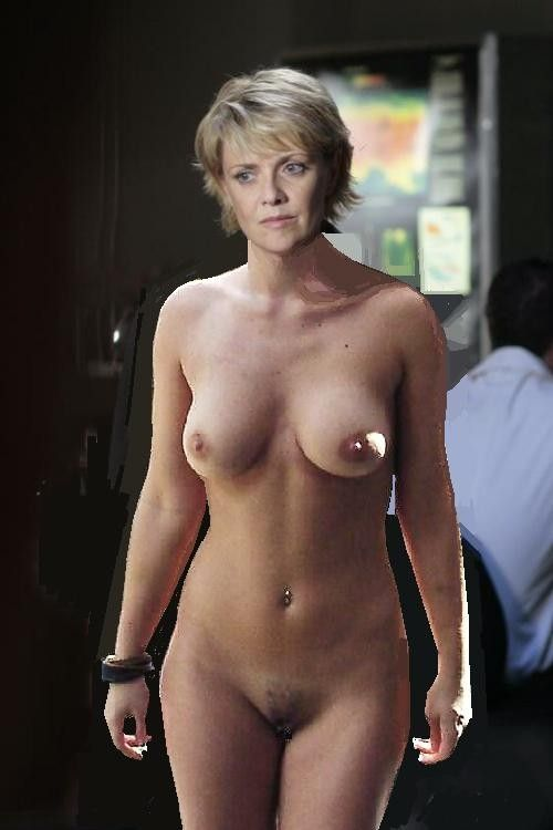 real nude amanda tapping