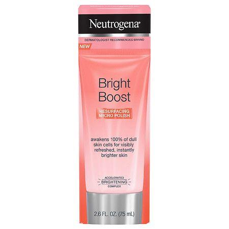 Neutrogena Bright Boost Resurfacing Micro Face Polish - 2 ...