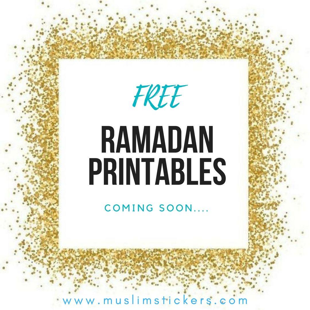 Free Ramadan Printables