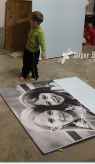 Info's : YES - this is the ORIGINAL Tutorial on how to make those big giant photo prints for super cheap - awesome.  the ultimate craft for home decor