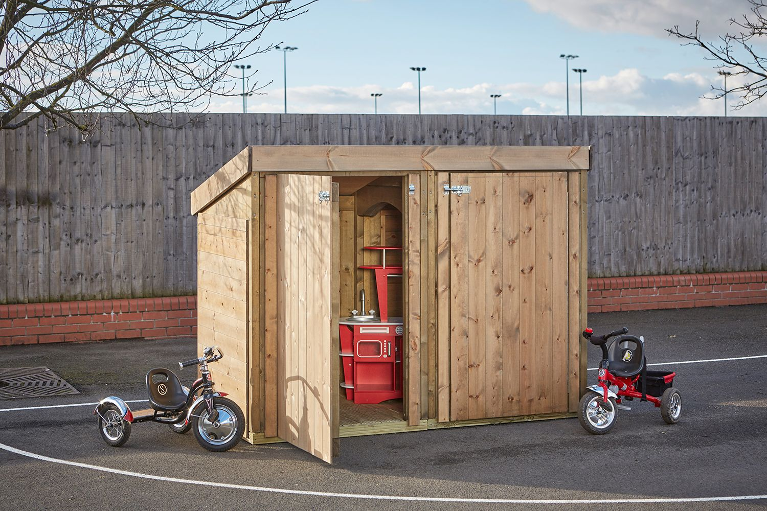 The Cottage Play & Store Secure Playground storage and ...